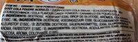Powder Cans - Voedingswaarden - fr