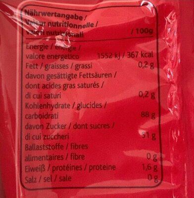 Sour fizz - Nutrition facts - fr