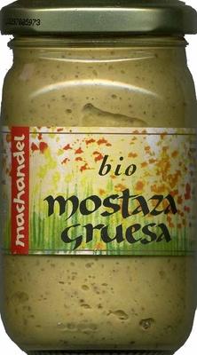 """Salsa de mostaza ecológica """"Machandel"""" Gruesa - Producto"""