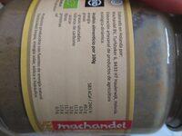 Tahin - Semillas de sésamo - Información nutricional