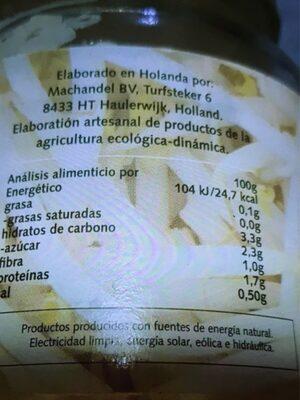 Soja germinada - Nutrition facts - fr
