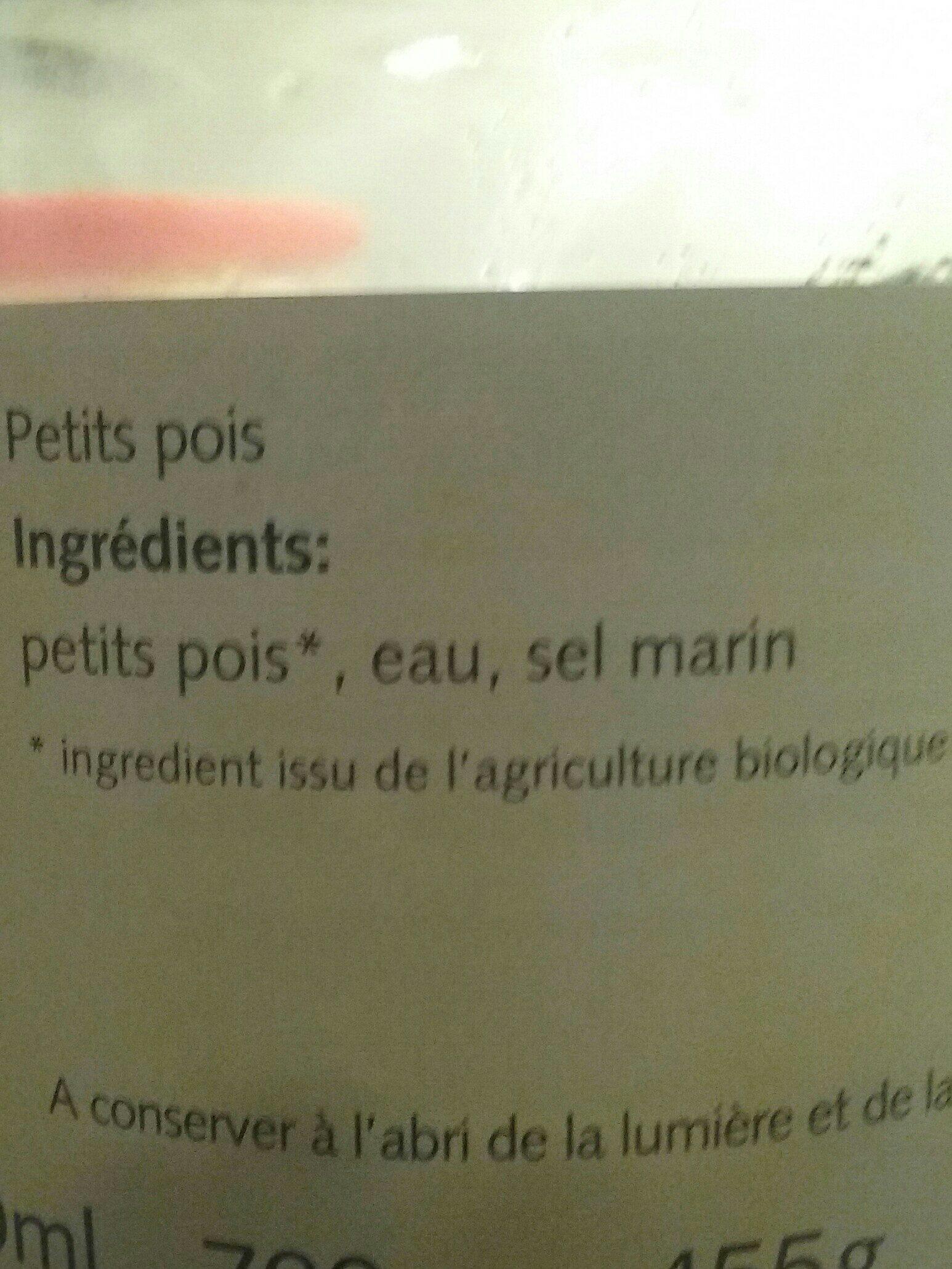 Petit pois - Ingredients - fr