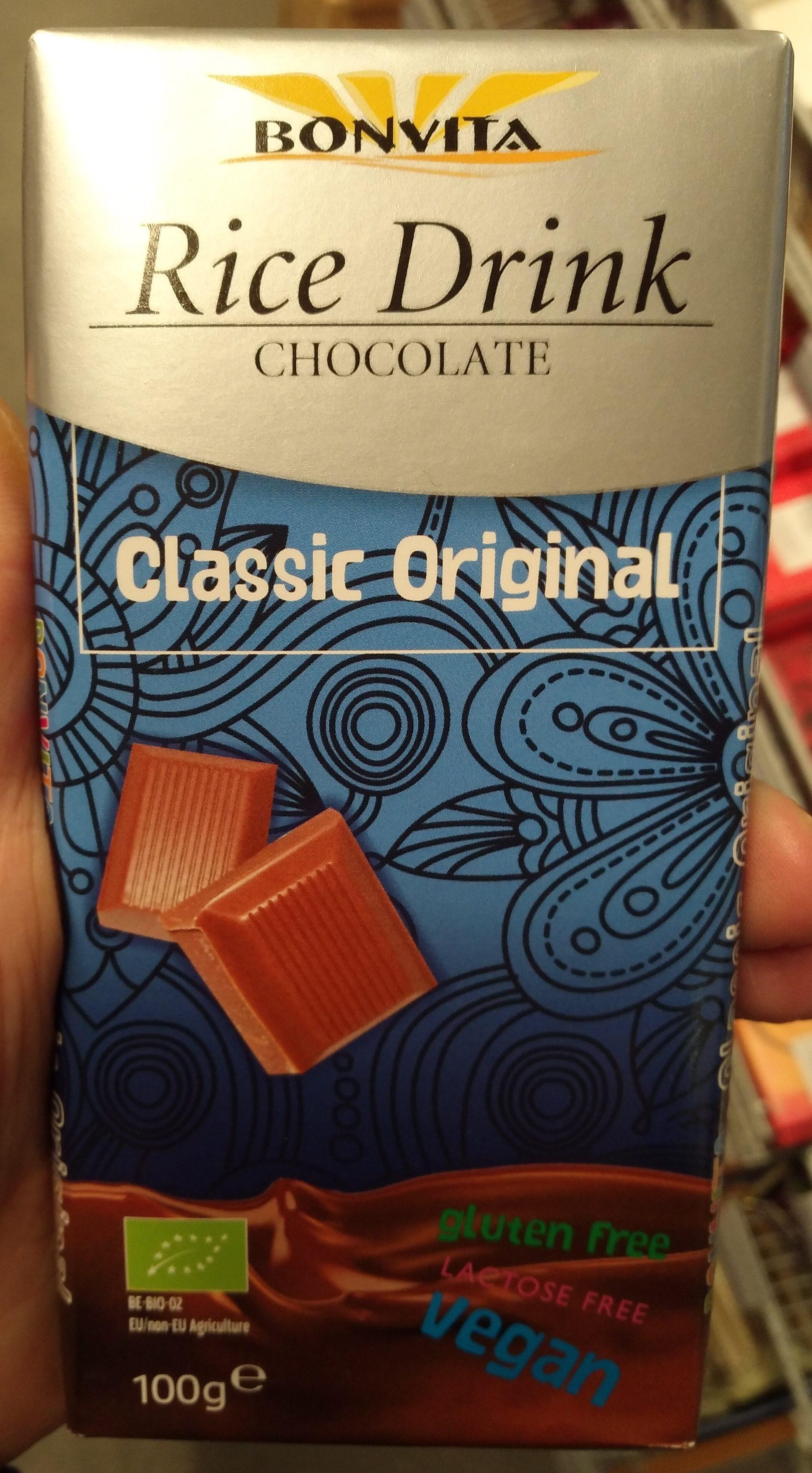 Bonvita's Classic Original - Cacao & Rice Chocolate Couverture - Product - de