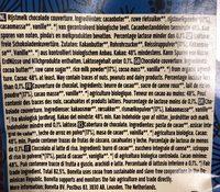 Bonvita's Classic Original - Cacao & Rice Chocolate Couverture - Ingredients - de