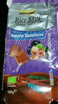 Raisins hazelnuts - Product - nl