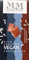 Crisp chocolate Vegan - Product - fr