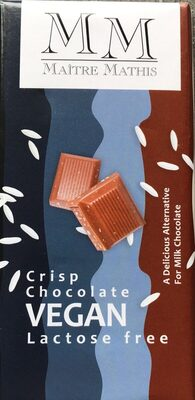 Crisp chocolate Vegan - Product