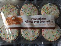 Feestcakejes Gâteau avec décoration - Produit