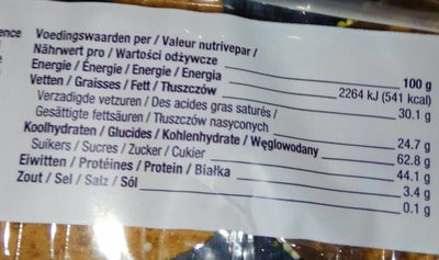 Easter biscuits - Informations nutritionnelles