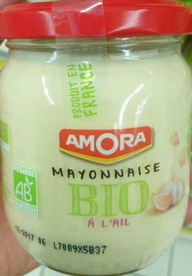 Mayonnaise bio ail - Produkt - fr