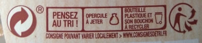 Amora Ketchup Ingrédients d'Origine Naturelle Flacon Souple - Recycling instructions and/or packaging information - fr