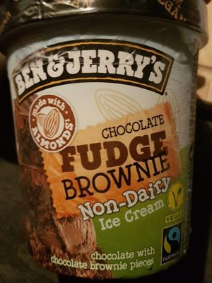 Ice cream - Chocolate Fudge Brownie non dairy - Producte