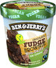 Ben & Jerry's Glace Pot Fudge Brownie 500ml - Produkt