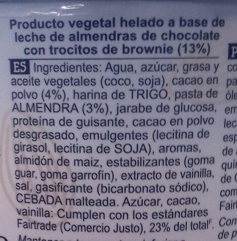 Ben & Jerry's Glace Pot Fudge Brownie 500ml - Ingredientes - es