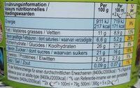 Ben & Jerry's Glace Pot Fudge Brownie 500ml - Informations nutritionnelles - fr