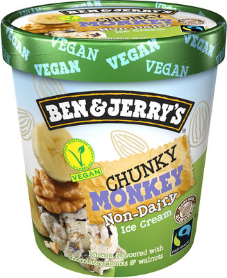 Ben & Jerry's Vegan Glace Pot Chunky Monkey Vegan 500ml - Produkt - fr