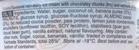 Chunky Monkey Non-Dairy Ice Cream - Ingredients