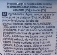 Chunky Monkey Non-Dairy Ice Cream - Ingredientes