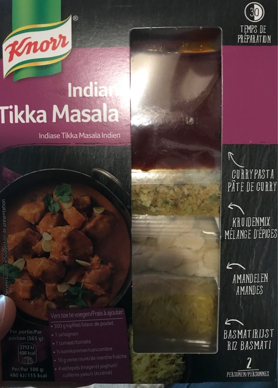 Indian Tikka Masala - Product - fr