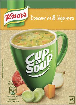Knorr Douceur de 8 légumes Cup A Soup 48g 3 Sachets - Product - fr