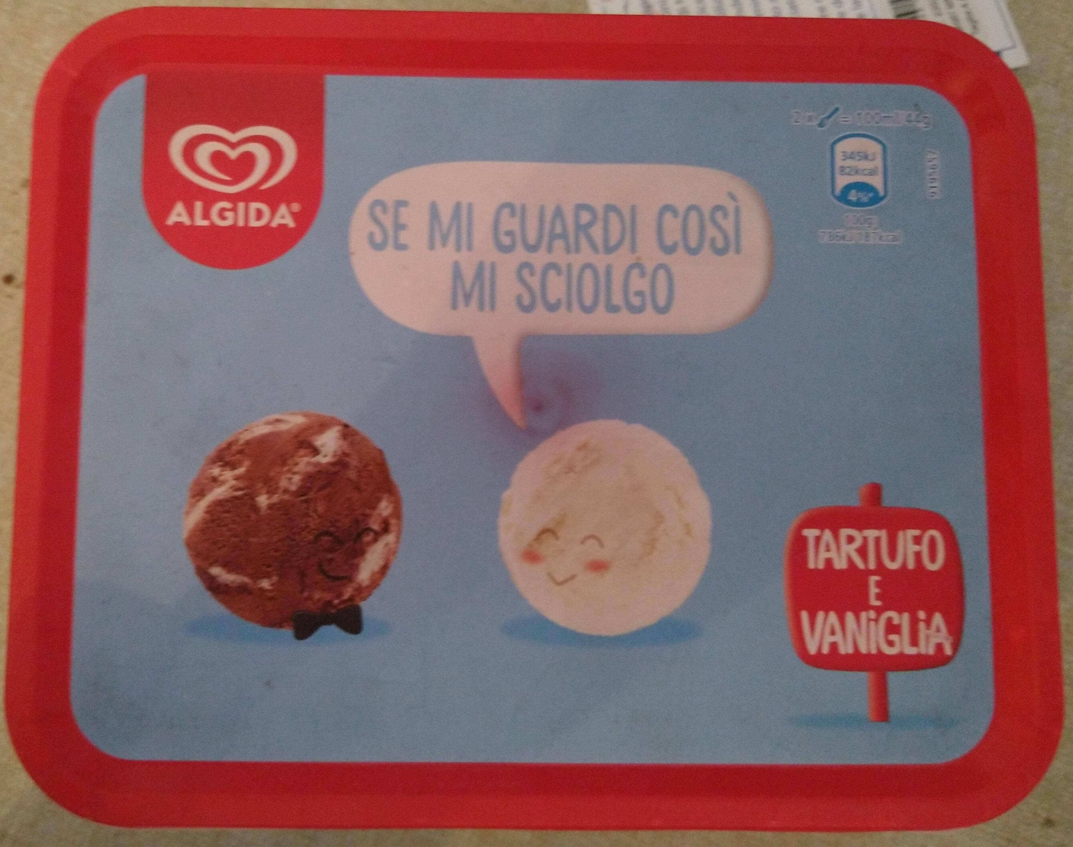 gelato tartufo e vaniglia - Product - en