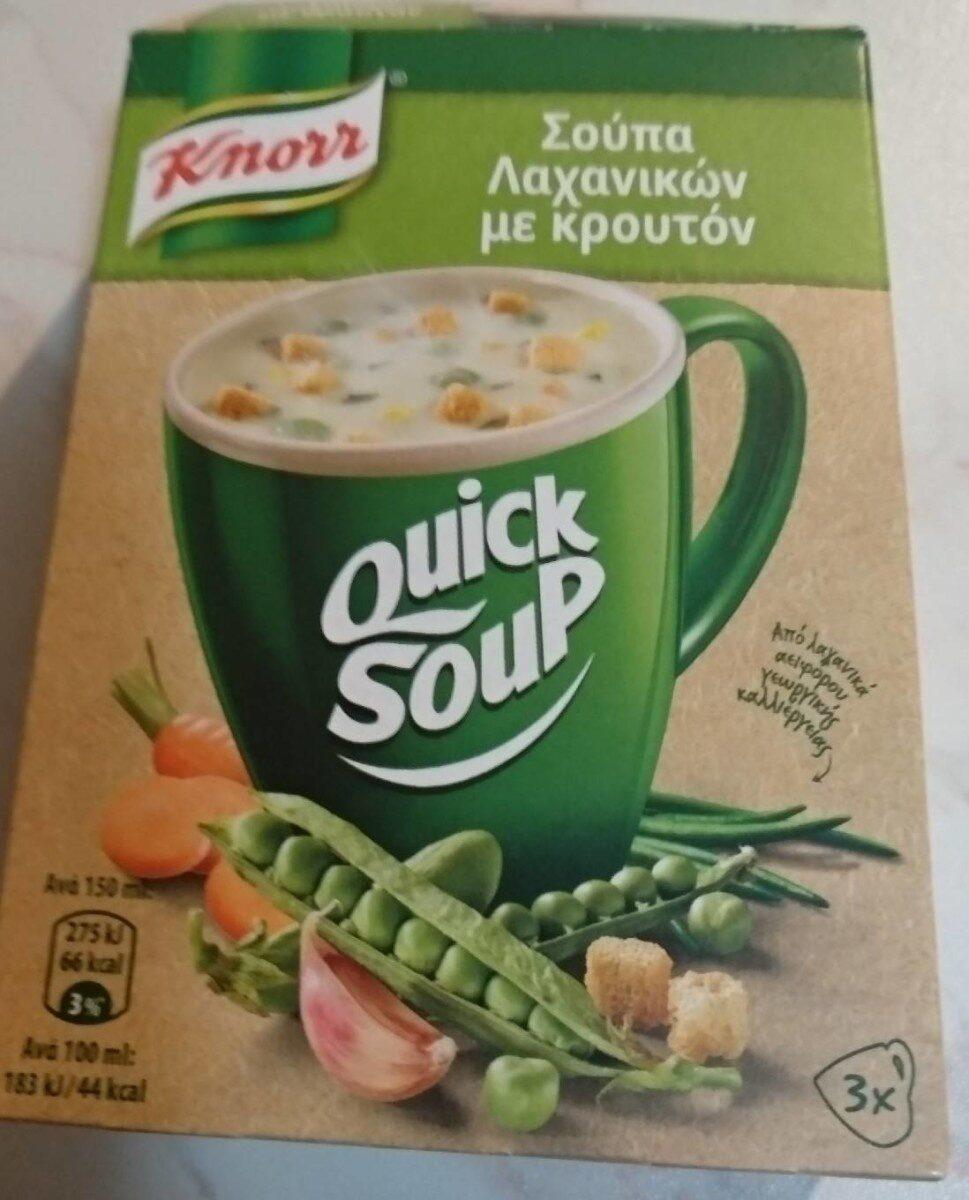 Soupe de légumes avec croutons - Produit - fr