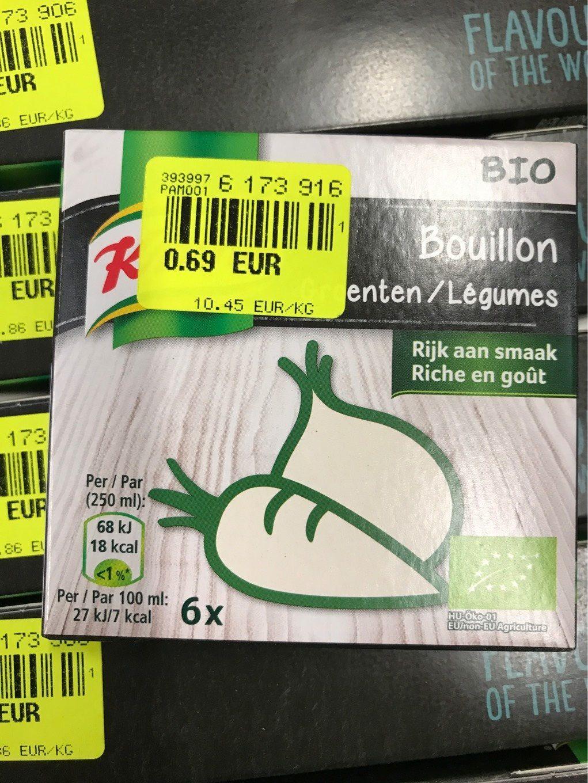 Bouillon legumes - Produit - fr