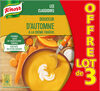 Knorr Soupe Liquide Douceur d'Automne à la Crème Fraîche Brique Lot 3x1L - Produit