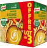 Knorr douceur de 8 légumes à la crème fraîche 3X1L - Produit