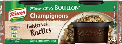 Knorr Marmite de Bouillon Champignons 4 Capsules - Product - fr