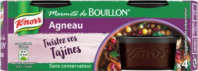 Knorr Marmite de Bouillon Agneau 4 Capsules 112g - Product - fr