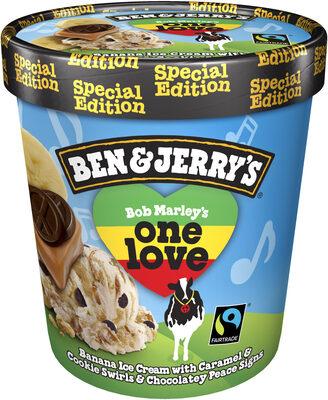 Ben & Jerry's Glace Pot Bob Marley's One Love™ 500ml – Ben & Jerry's
