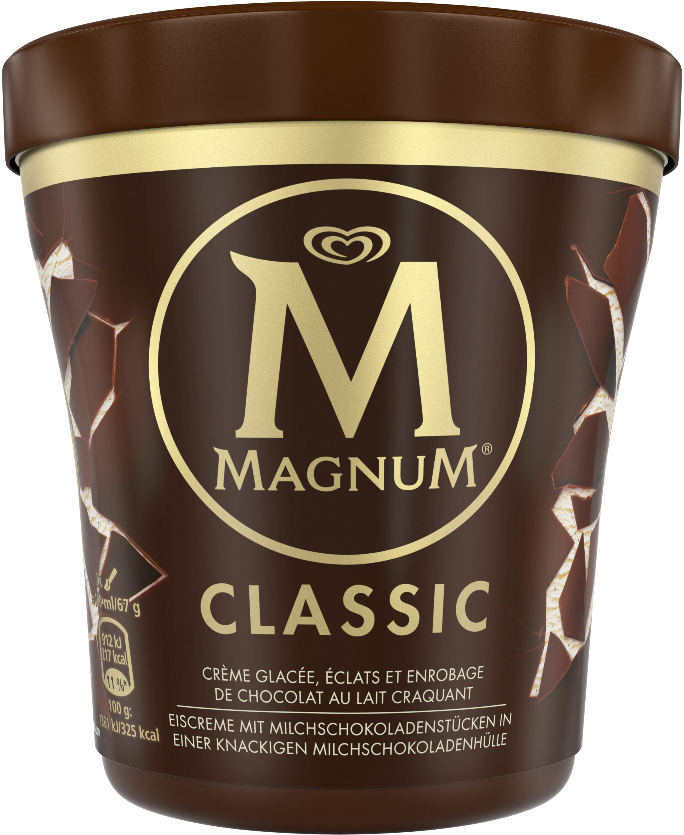 Magnum Glace Pot Classic Vanille Chocolat 440ml - Product - fr