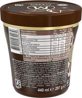 Magnum Glace Pot Classic Vanille Chocolat 440ml - Voedingswaarden - fr