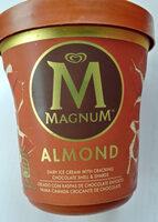 Lody waniliowe z mleczną czekoladą i migdałami - Produto