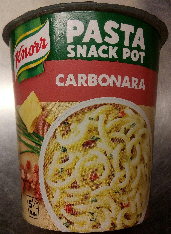 Knorr Pasta Snack Pot Carbonara - Produit - da