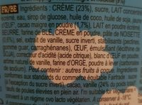 Ben & Jerry's Glace Pot Topped Caramel Salé Brownie 470ml - Ingredients - fr