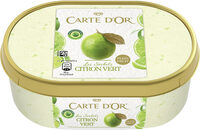 Carte D'or Sorbet Plein Fruit Citron Vert 1000ml - Prodotto - fr