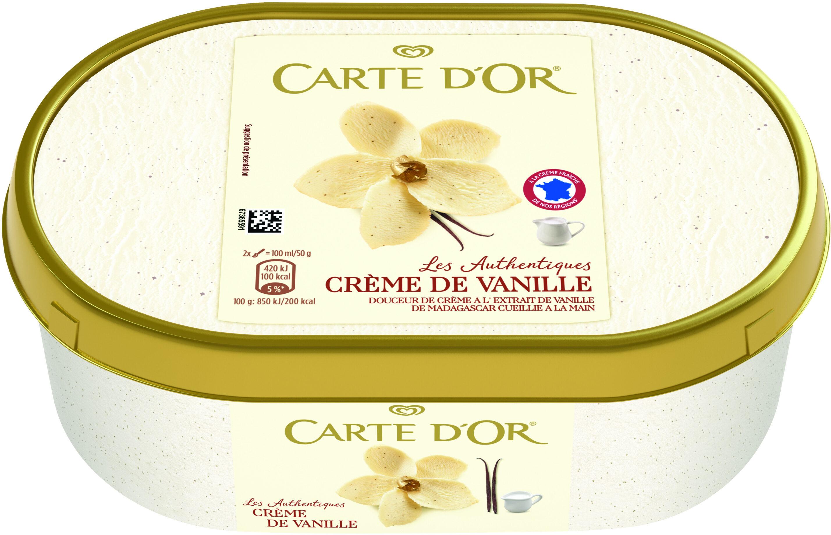 Glace Crème de Vanille, Les Authentiques - Producto - fr