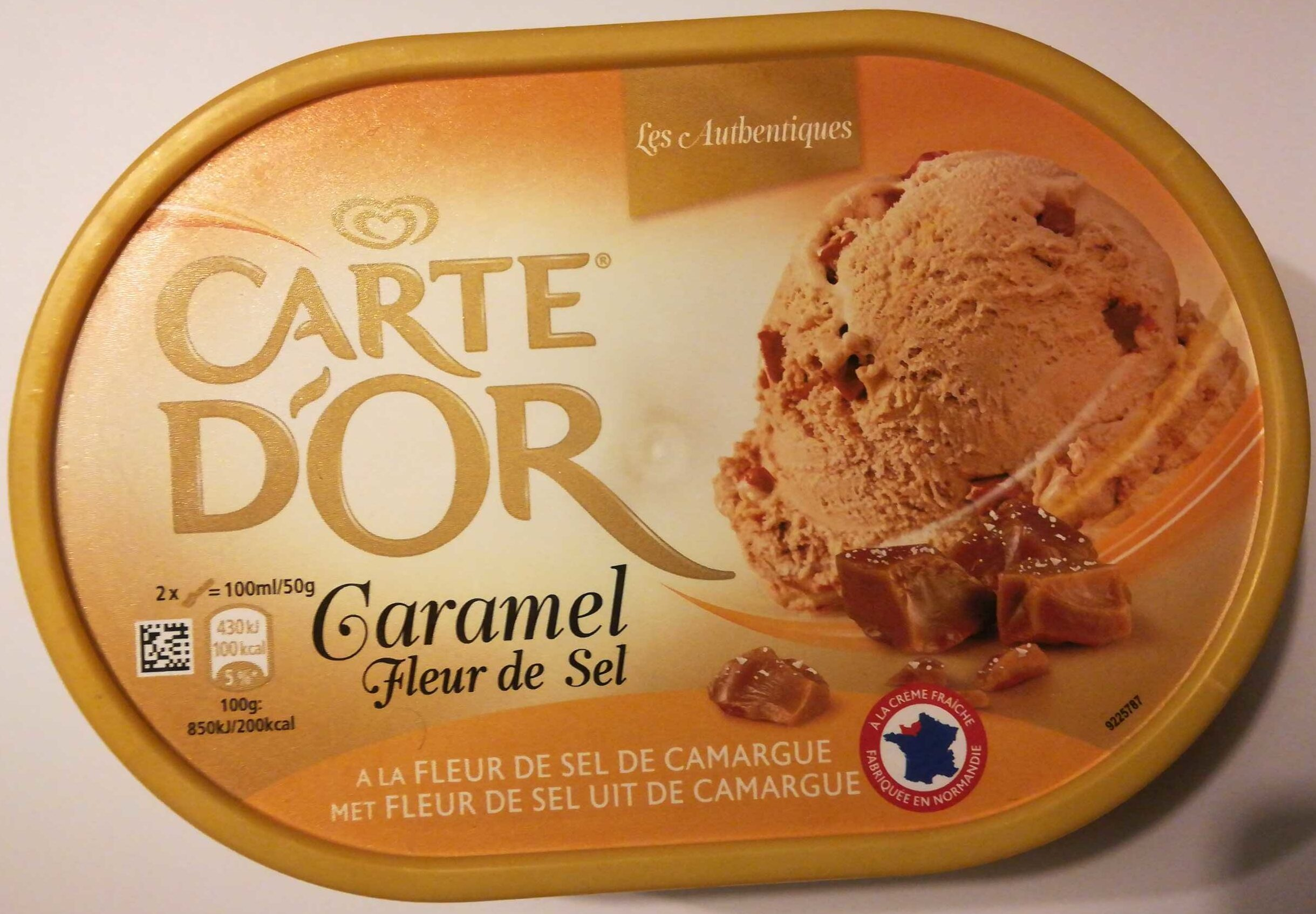 Carte D'or Les Authentiques Glace Caramel Fleur de Sel 1l - Product - nl