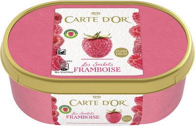 Sorbet Framboise, Plein Fruit - Product - fr