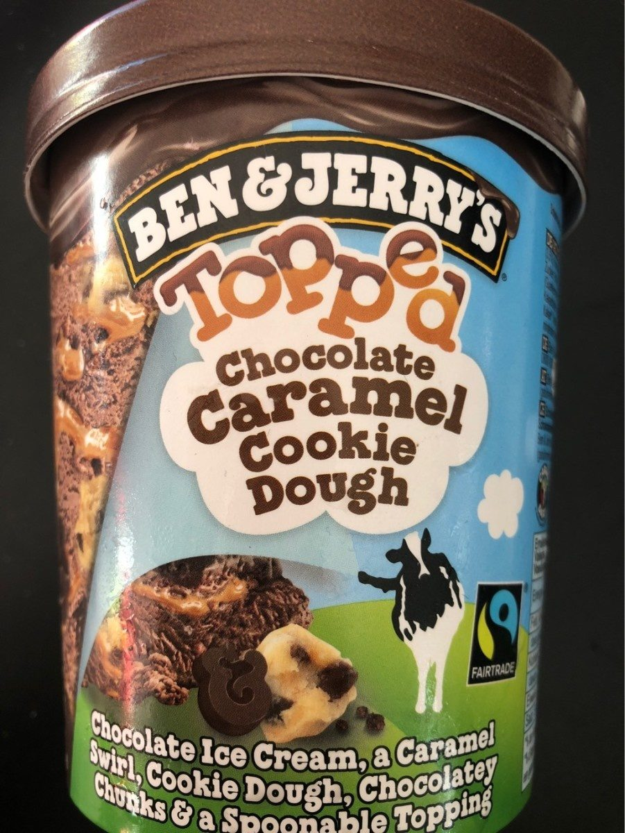 Topped Chocolate Caramel Cookie Dough - Product