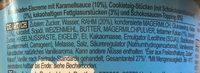 Ben & Jerry's Glace Pot Topped Chocolate Caramel Cookie Dough 470ml - Inhaltsstoffe - de