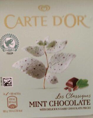Helado Menta Chocolate - Producto