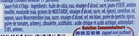 Amora Sauce Fish'n'Chips Flacon Souple 251g - Ingredients - fr