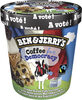 Ben & Jerry's Glace Pot Coffee for Democracy 500ml - Product