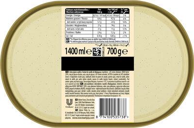 Carte D'or Les Authentiques Glace Vanille de Madagascar 1,4l - Ingredienti - fr
