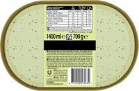 Carte D'or Les Authentiques Glace Pistache et Eclats Grillés 1.4l - Informations nutritionnelles - fr