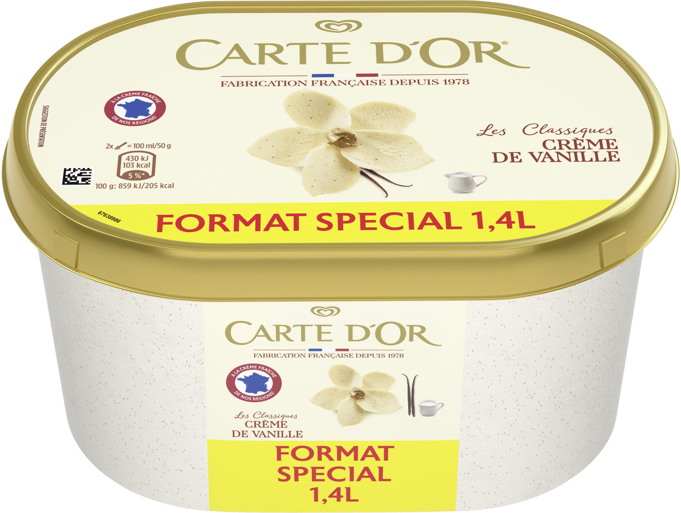 Glace Crèmes de Vanille de Madagascar - Prodotto - fr