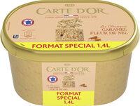 Carte D'or Les Authentiques Glace Caramel Fleur de Sel Format Spécial 1,4l - Produit